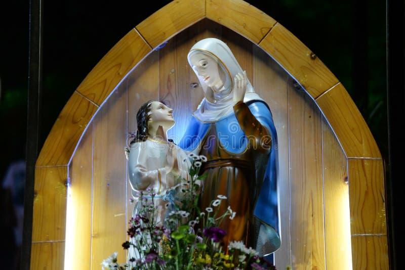 Mary, Mutter des Gottes lizenzfreie stockfotografie