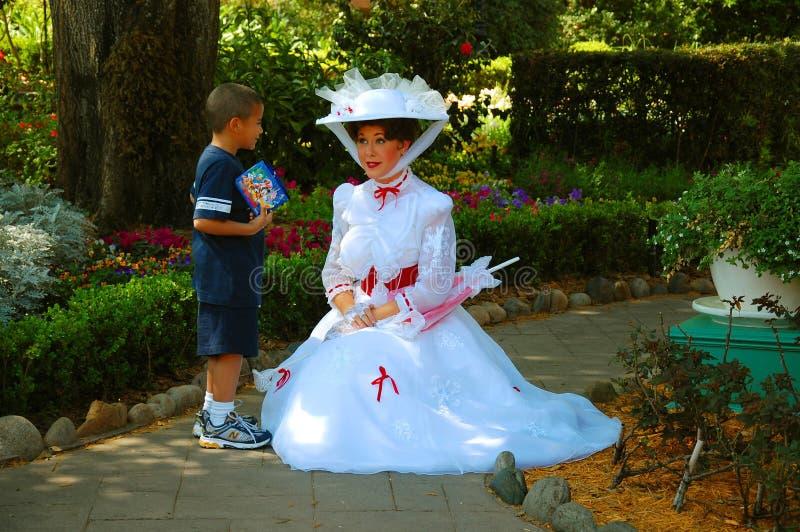 Mary Poppins immagine stock libera da diritti