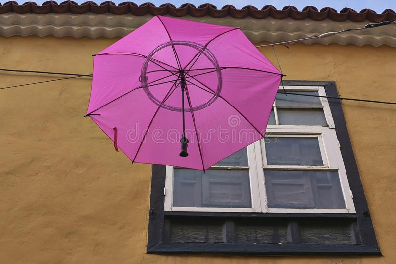 Mary Poppins latał zdjęcie royalty free