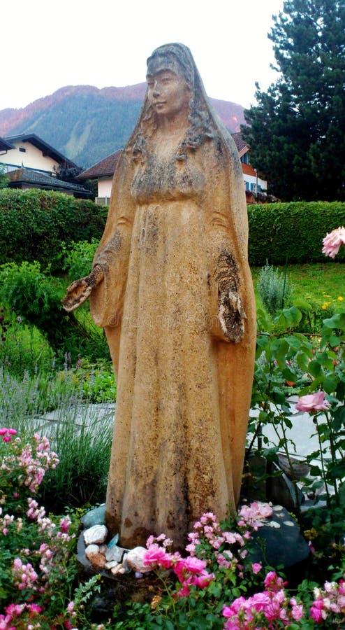 mary posągów dziewicy obraz stock