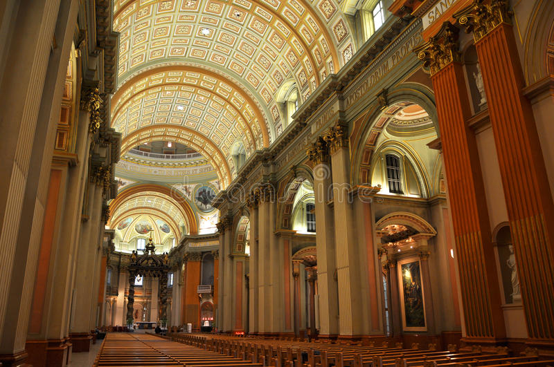 Mary Queen of the World Cathedral, Montreal royalty free stock images