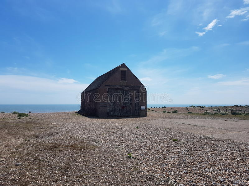 Mary Stanford Lifeboat House, Rye, UK royalty free stock photography