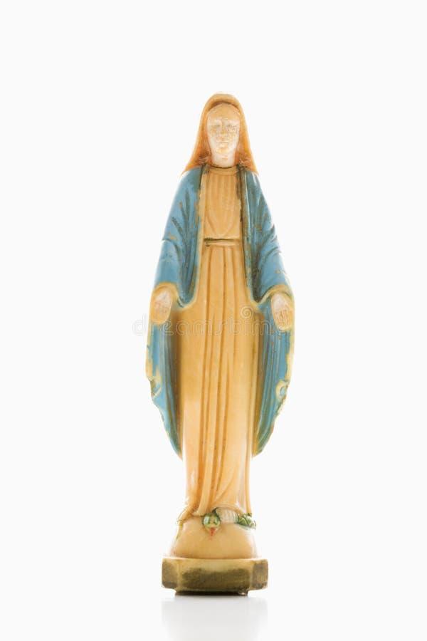 Download Mary statyoskuld arkivfoto. Bild av vitt, religion, spiritual - 3533732