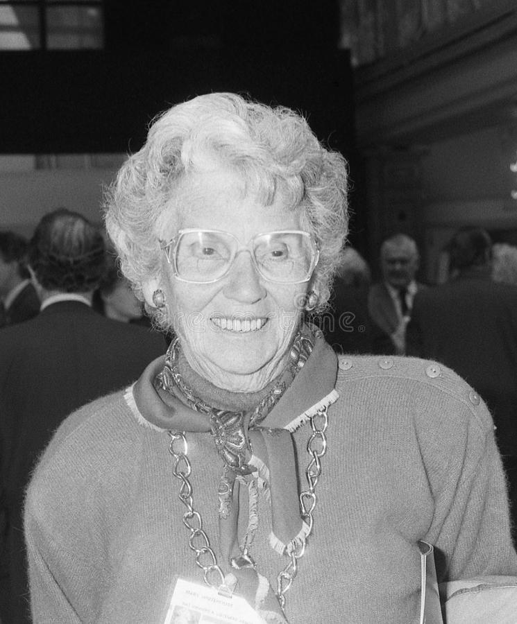Download Mary Whitehouse Editorial Stock Photo - Image: 11204873