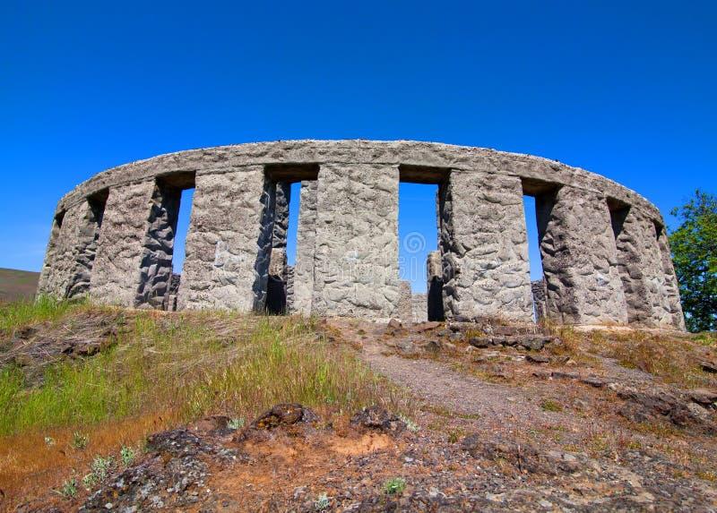 Maryhill Stonehenge stock image
