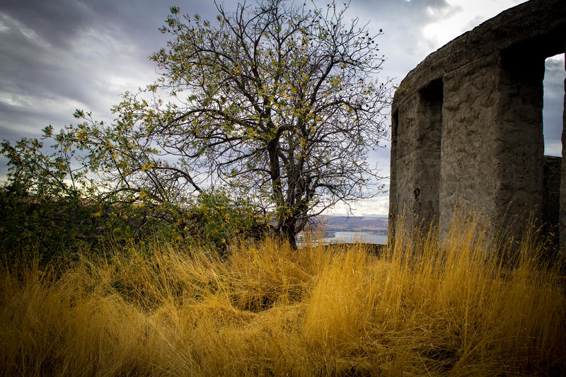 Maryhill Stonehenge fotografie stock