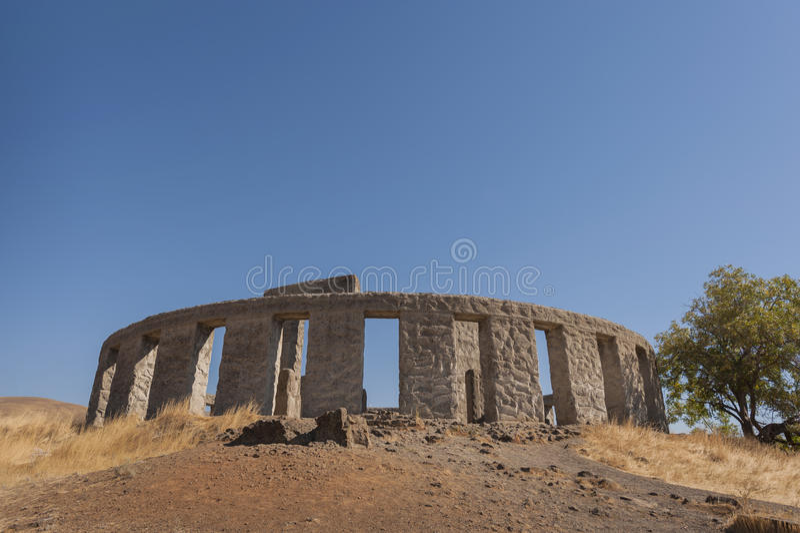 Maryhill Stonehenge immagini stock