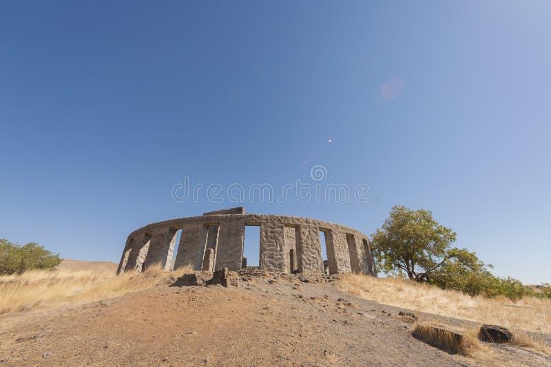 Maryhill Stonehenge stock photo