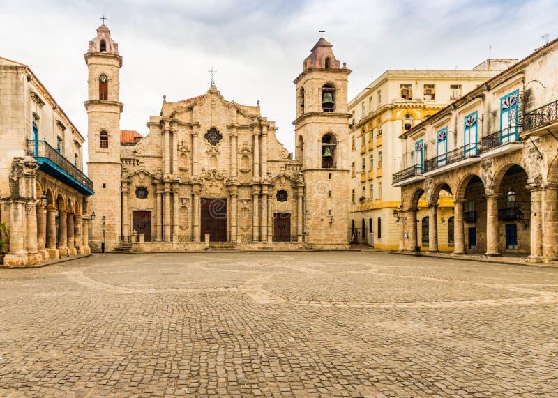 Maryja Dziewica niepokalany poczęcie w Havana w Kuba obrazy royalty free