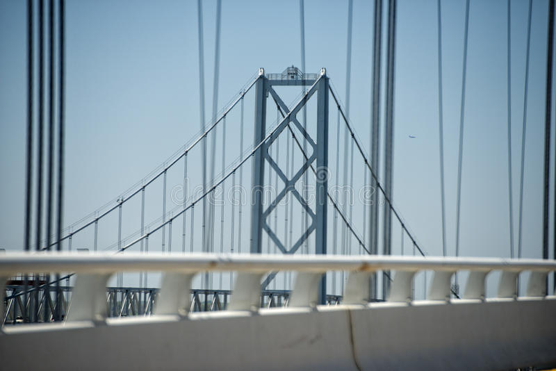 Maryland bay bridge royalty free stock images