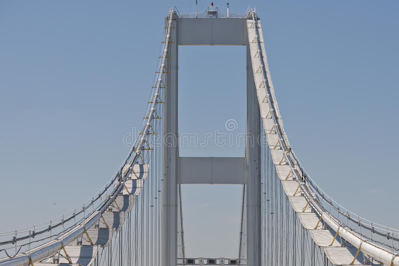 Maryland bay bridge royalty free stock image