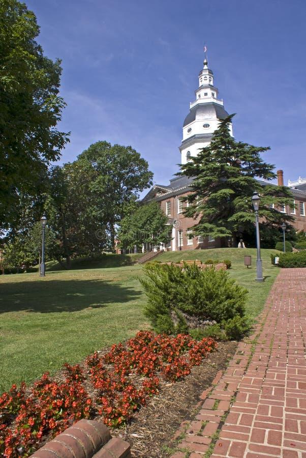 Maryland budynku kapitału fotografia stock