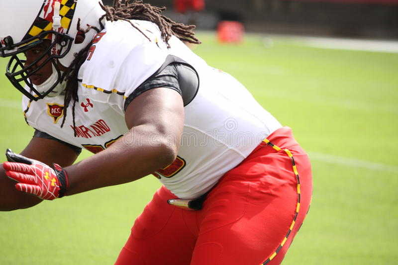 Maryland Defensive End Isiah Ross Editorial Photo