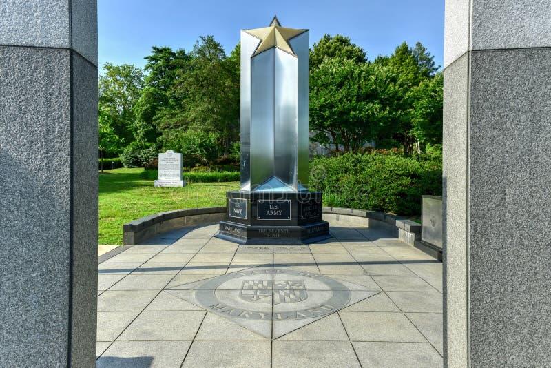 Maryland drugiej wojny światowa pomnik obrazy royalty free