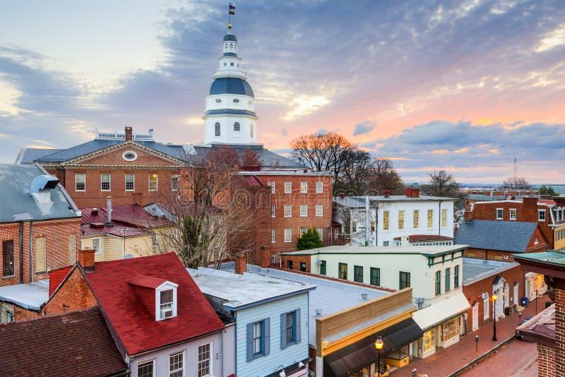 Maryland państwa domu zdjęcie royalty free