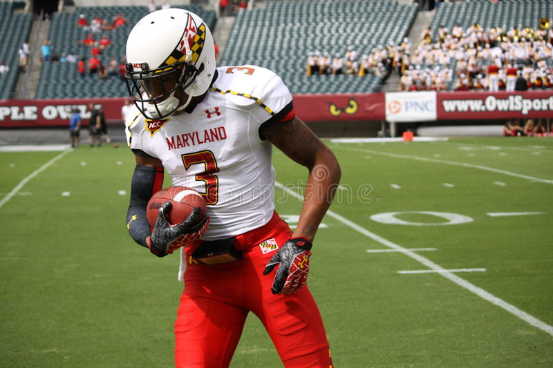 Maryland Receiver Nigel King #3 Editorial Image