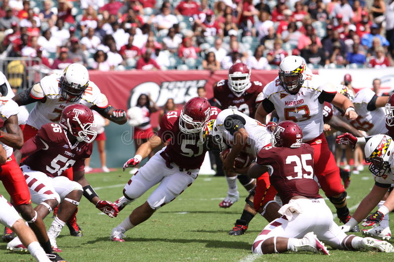 Download Maryland Running Back #44 Justus Pickett Editorial Stock Image - Image: 26598709