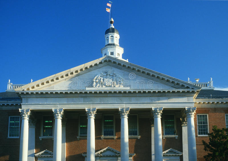 Maryland stan Capitol obrazy royalty free