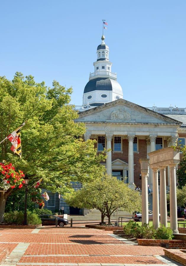 Maryland stolicy kraju budynek obraz stock