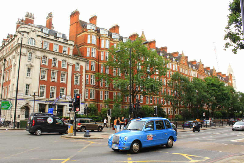 Marylebone Drogowy Londyński miasto Anglia obraz stock