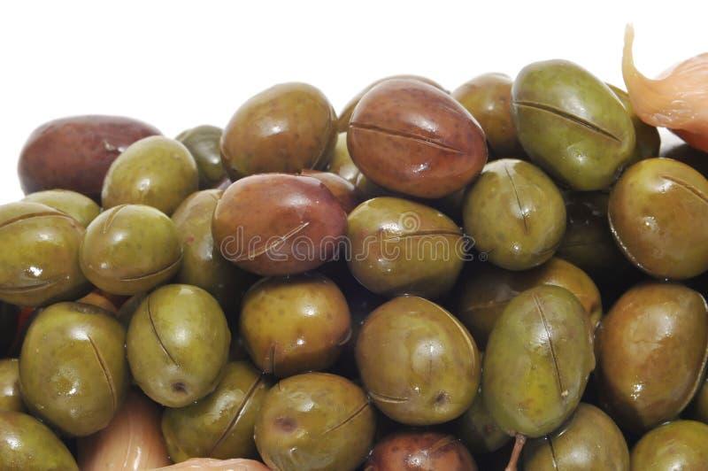 marynowane oliwki obrazy stock
