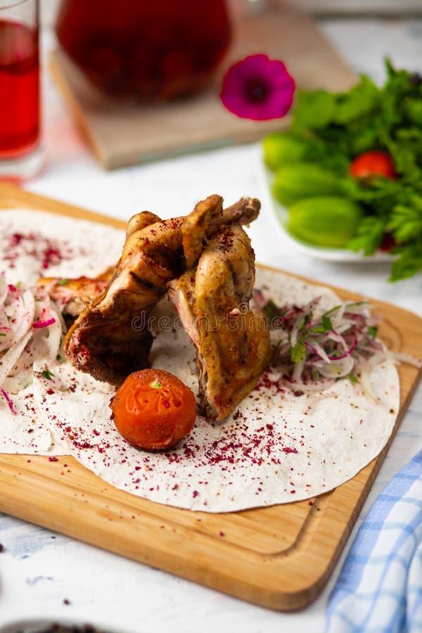 Marynowane piec na grillu zdrowe kurczak piersi zdjęcie royalty free