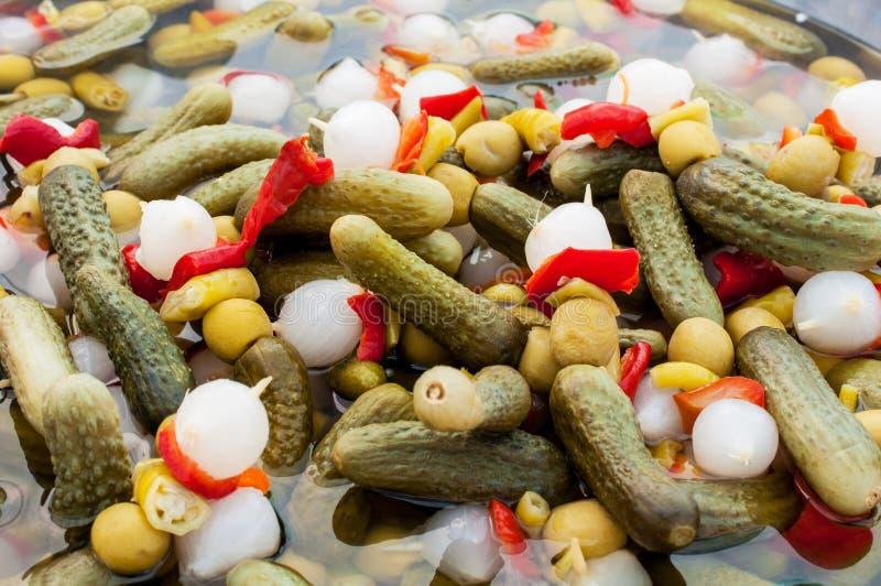 marynowane warzywa zdjęcia stock