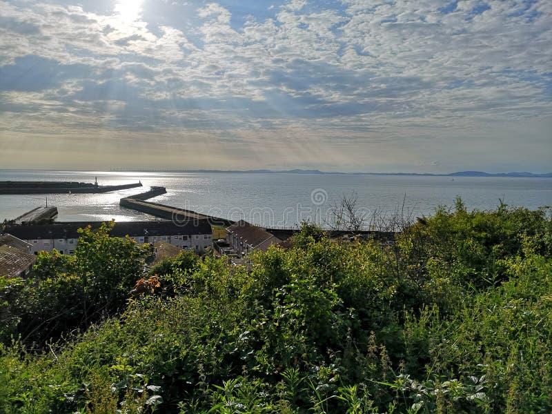 Maryport, Cumbria 免版税库存照片