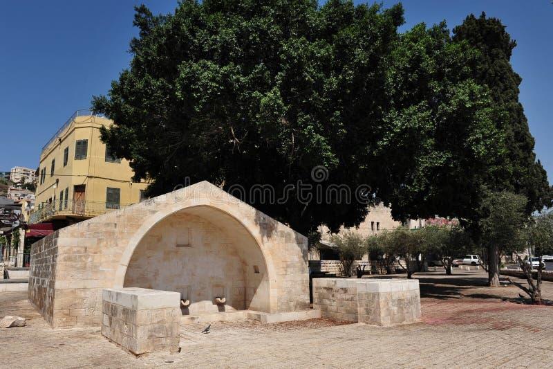 Marys gut in Nazareth lizenzfreie stockfotografie
