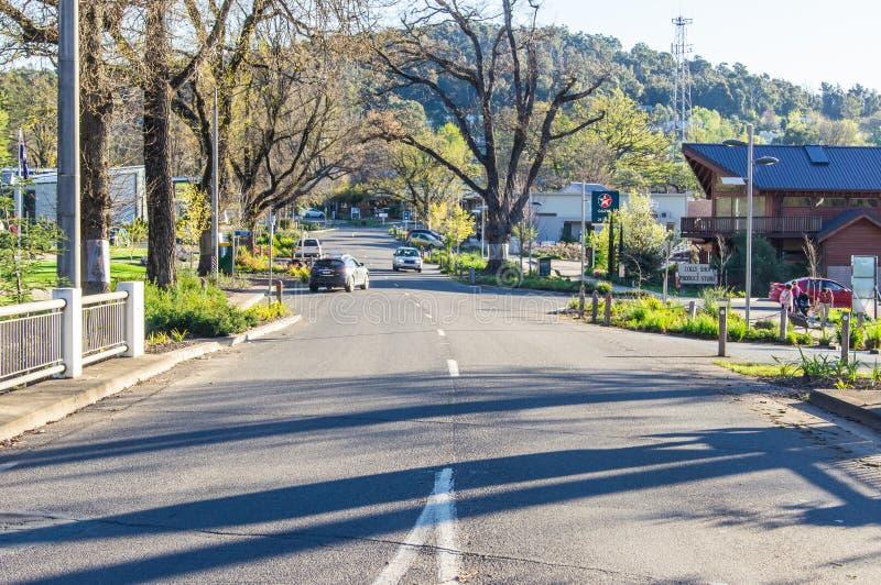Marysville w Wiktoria, Australia zdjęcie stock