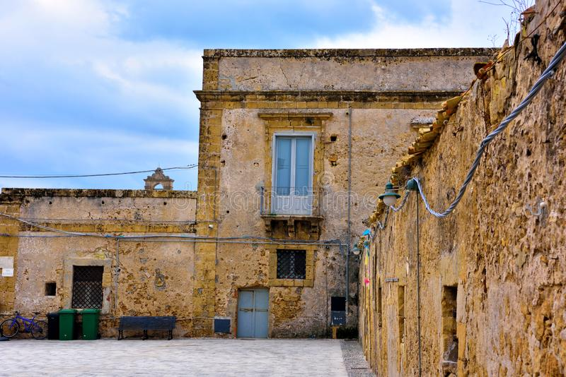 Marzamemi village siracusa. Marzamemi village in the province of Syracuse, in Sicily stock images