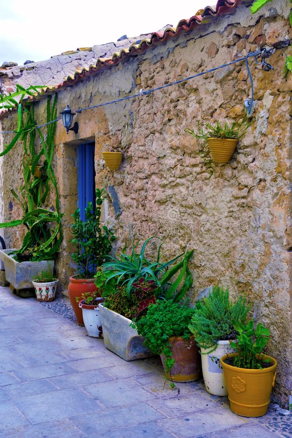 Marzamemi village siracusa. Marzamemi village in the province of Syracuse, in Sicily royalty free stock photos