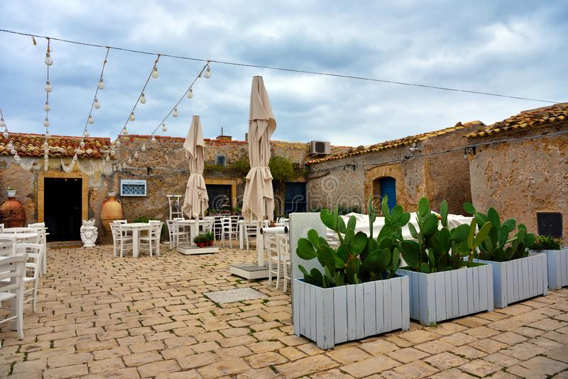 Marzamemi village siracusa. Marzamemi village in the province of Syracuse, in Sicily royalty free stock images