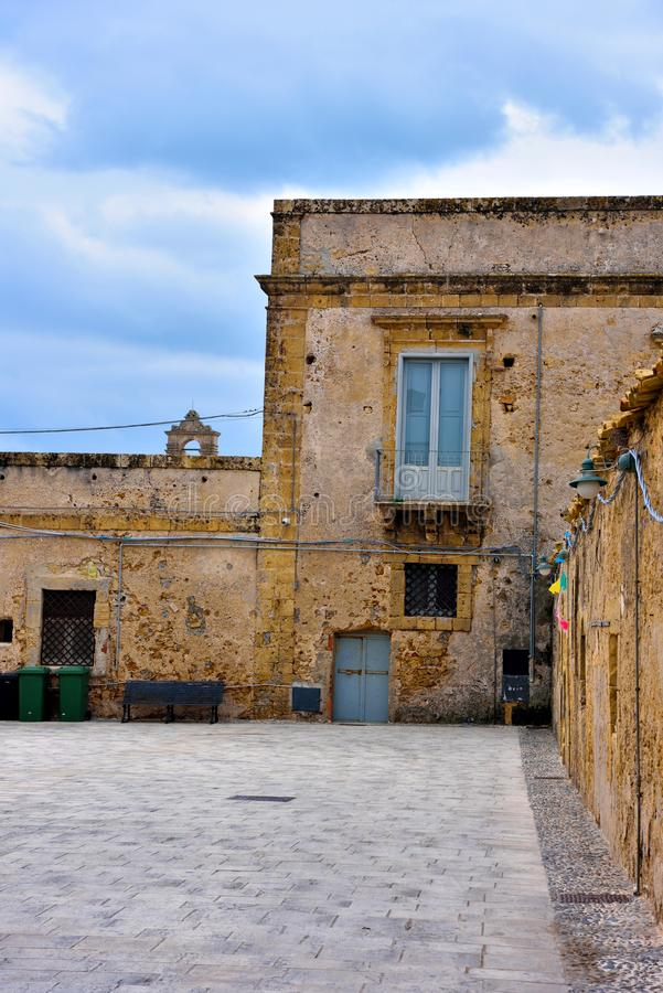 Marzamemi village siracusa. Marzamemi village in the province of Syracuse, in Sicily royalty free stock image