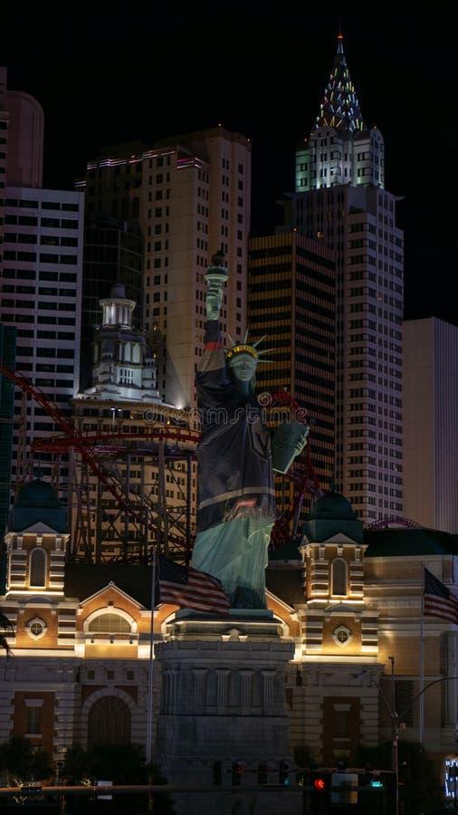 3 Marzec 2019, - Las Vegas Nevada, Nowy Jork, Nowy Jork kurort i kasyn, - zdjęcie stock