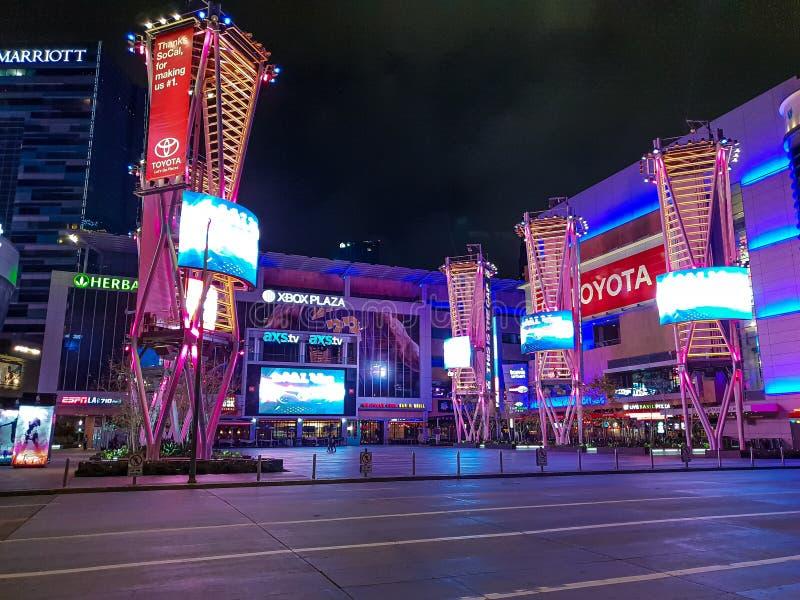 Marzec 18, 2019 Microsoft plac przy Staples Center Los Angeles, LOS ANGELES -, usa - obraz royalty free