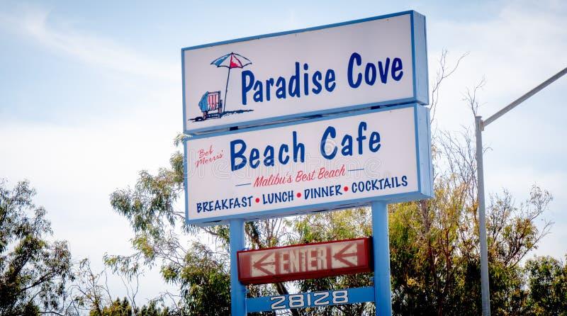 Marzec 29, 2019 raj zatoczki kawiarnia w Malibu, MALIBU -, usa - zdjęcie royalty free