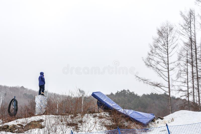 2018 Marzec 16th Peyongchang Paralympic 2018 gry w Południowym Kore zdjęcie stock