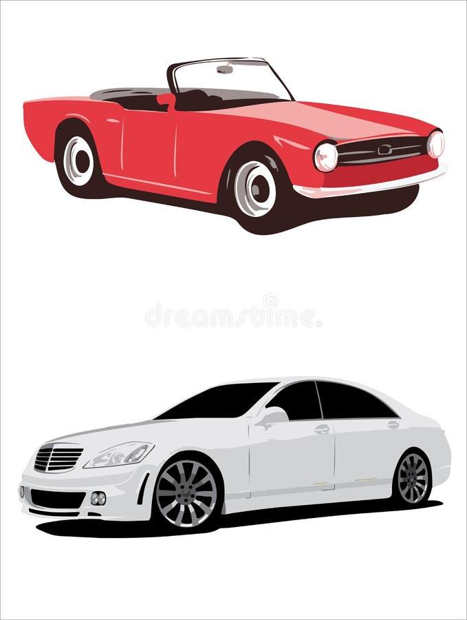 marzenie mojego samochodu ilustracji