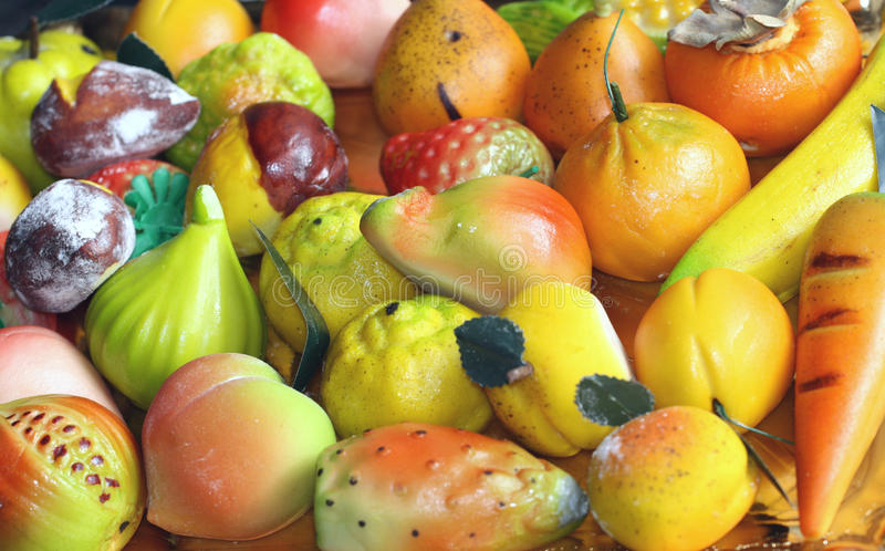 Download Marzipan stock photo. Image of dessert, sicilian, fruits - 13639754