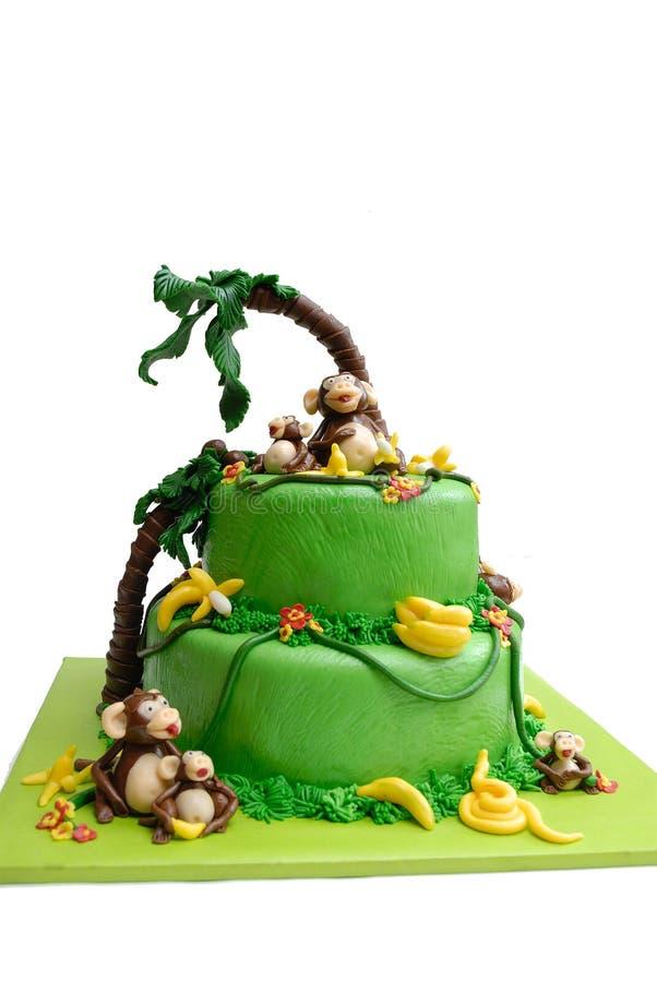 Marzipan cake royalty free stock photography