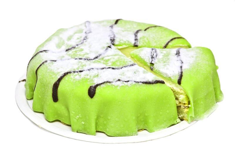 Marzipan cake stock photos