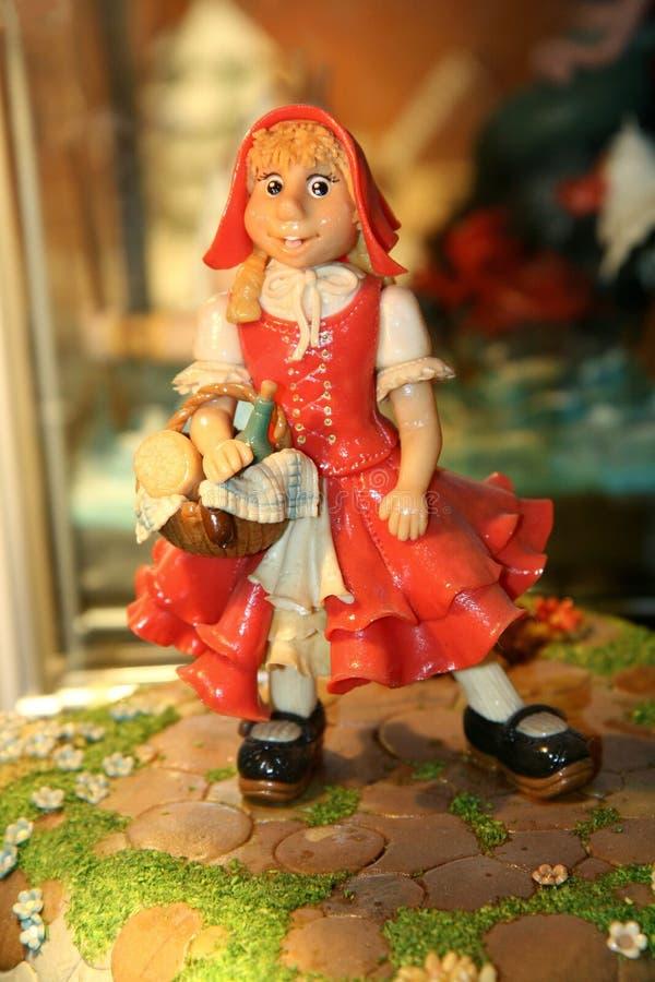 Free Marzipan Girl Stock Image - 4987541