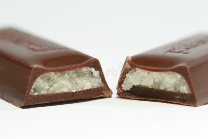 Marzipan-Schokolade stockfotografie