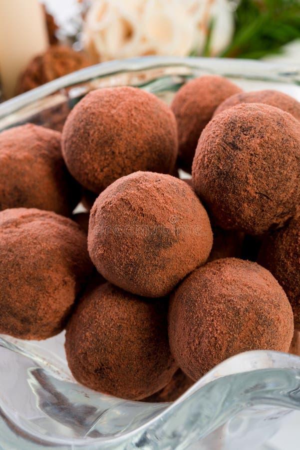 Marzipanball stockbilder