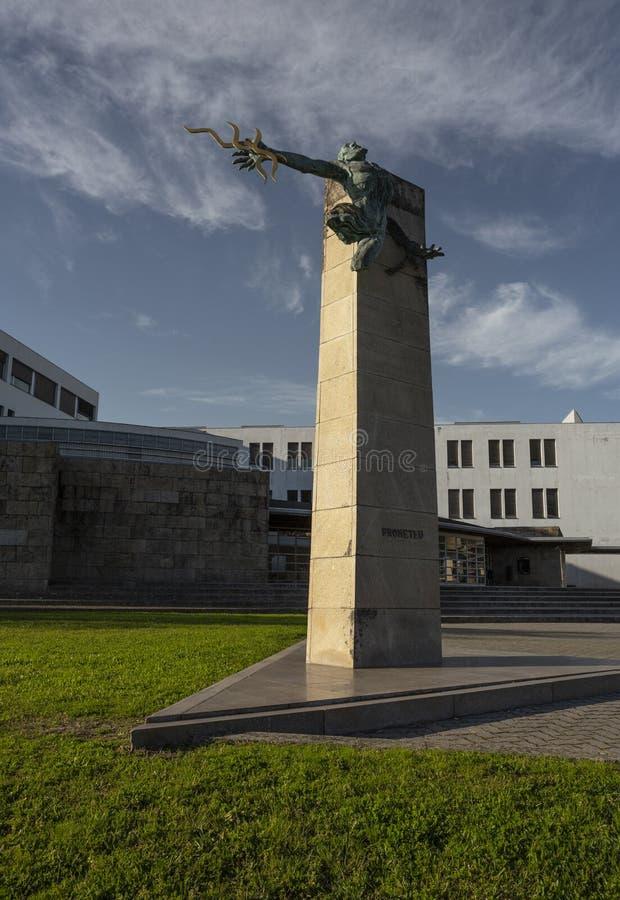 12 marzo 2020 - L'Università Campus di Minho, chiusa a causa della pandemia di Covid-19 Coronavirus Braga, Minho fotografia stock
