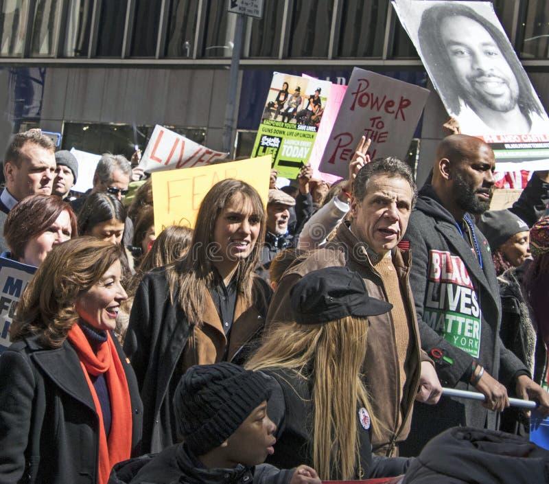 Marzo per le nostre vite, New York fotografia stock libera da diritti