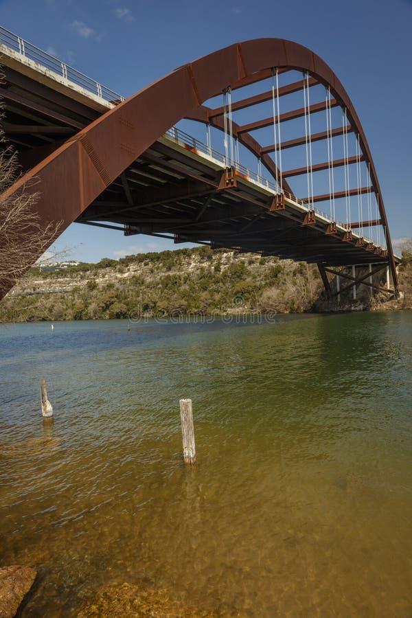 2 marzo 2018, ponte di Pennybacker 360, Austin, Punto, BridgeThe fotografia stock libera da diritti