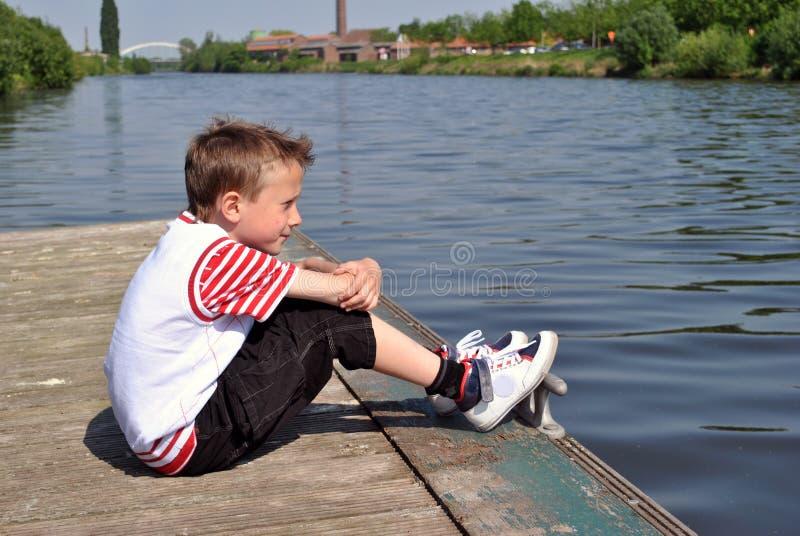 marzycielka dzieciak zdjęcie royalty free