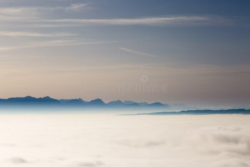 Marzycielski horyzont obraz stock